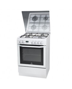 Cooking INDESIT I6GMH6AG(W)U 60 cm Gaz/Electric White