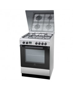Cooking INDESIT I6GMH6AG(X)U 60 cm Gaz/Electric Inox