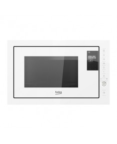 BEKO Microwave MGB25333WG, 900W, 25L, BUILT-IN, Auto-weight Defrost, White/White color