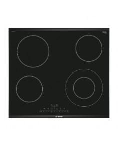 BOSCH Electric Hob PKF675FP1E 60 cm, Digital display, 1 double size hob, DirectSelect, PowerBoost, Black