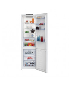 BEKO Refrigerator RCNA406I40WN, Energy class E (old A++), height 202.5 cm, Neo frost, White