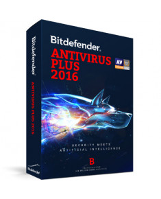 Bitdefender Antivirus Plus 2016 2Y 1U