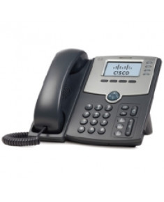 4 Line IP Phone With Display, PoE and PC Port