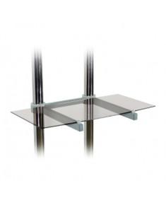 Glass shelf for TR1/TR2/TR3 trolley, black