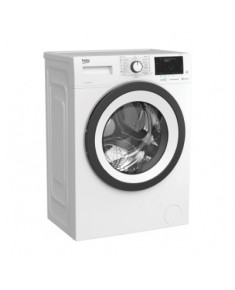 BEKO Washing Machine WUE 6532 B0, Energy class D (old A+++), 6kg, 1000rpm, Depth 44 cm, Inverter Motor, AquaWave, HomeWhiz, SteamCure