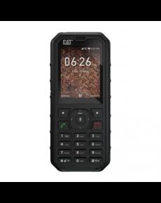 """CAT B35 Black, 2.4 """", TFT, 240 x 320, 512 MB, 4 MB, microSD, Dual SIM, Nano-SIM, Main camera 2 MP, 2300 mAh"""