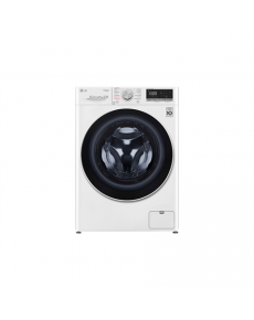 LG Washing machine with dryer F4DN408S0 Energy efficiency class D, Front loading, Washing capacity 8 kg, 1400 RPM, Depth 56 cm, Width 60 cm, Display, LED touch screen, Drying system, Drying capacity 5 kg, Steam function, Direct drive, Wi-Fi, White