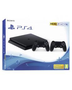 PLAYSTATION 4 CONSOLE 1TB SLIM/BLACK/ 2ND DUALSHOCK SONY