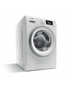 WHIRLPOOL Washing machine FWSD 81283 SV EE N, Energy class D (old A+++), 8kg, 1200 rpm, Depth 48 cm, 6th Sense, Inverter Motor