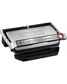 TEFAL Optigrill + XL GC722D34 Stainless Steel/Black, 2000 W