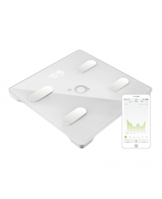 Acme Smart scales SC202 Memory function, Body fat analysis, Electronic scale, Auto power off, Multiple users, Maximum weight (capacity) 180 kg, Body Mass Index (BMI) measuring