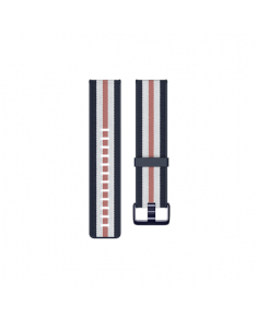 Fitbit  Versa-Lite Woven Hybrid Band, large, navy/pink